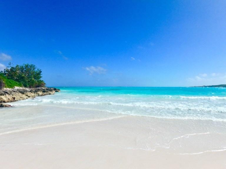 The beach at Grand Isle (named Emerald Bay)