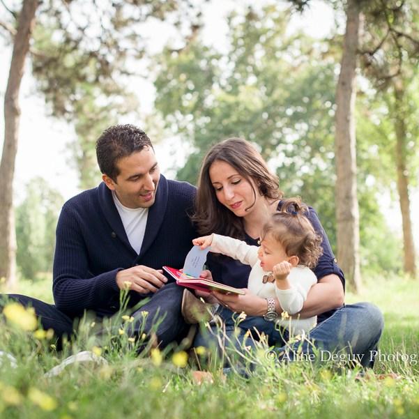 photo catalogue Babies'R'us, Aline Deguy, photographe, famille, bois, boulogne, lac