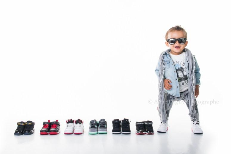 Casting, bébé, Shooting, Book, Fond blanc, photographe, Aline Deguy