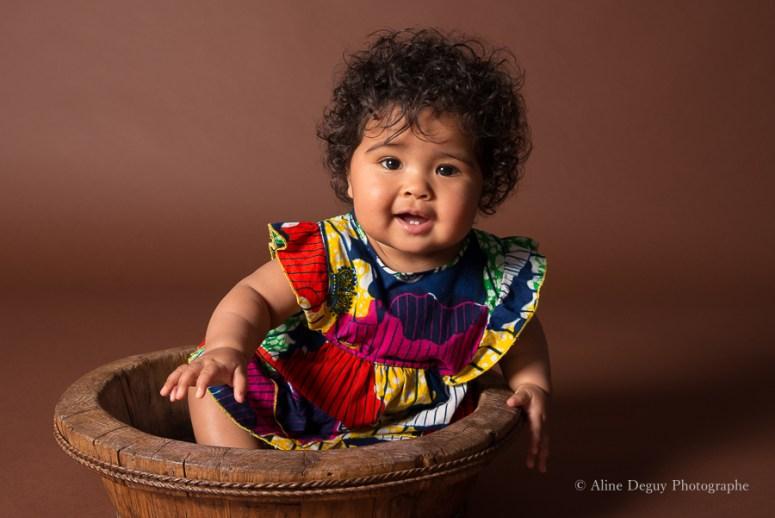 Photographe bébé paris, métisse