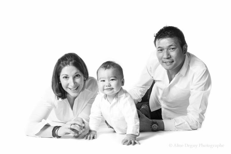 Séance photo studio 92, photographe famille Nanterre