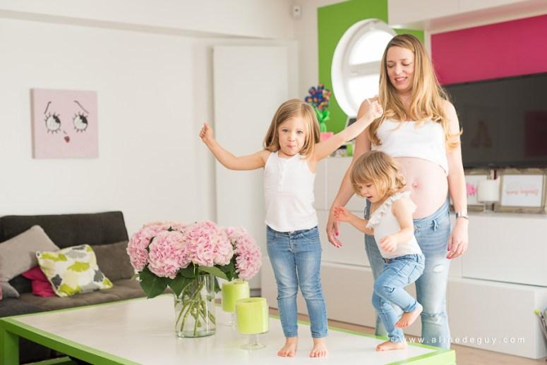 Photographe famille paris à domicile