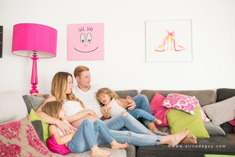 Photographe famille à paris, Photographe  famille loft original