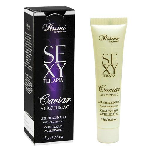 Gel Siliconado Sexy Terapia Caviar Pessini