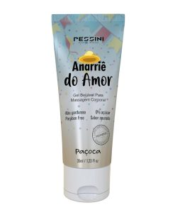 Anarriê do Amor - Gel sabor Paçoca para Sexo Oral - Pessini