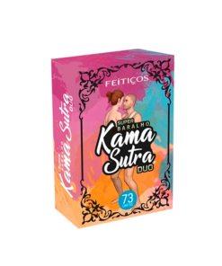 Baralho Kama Sutra Duo 73 Cartas 2 em 1 UNO - Feitiços