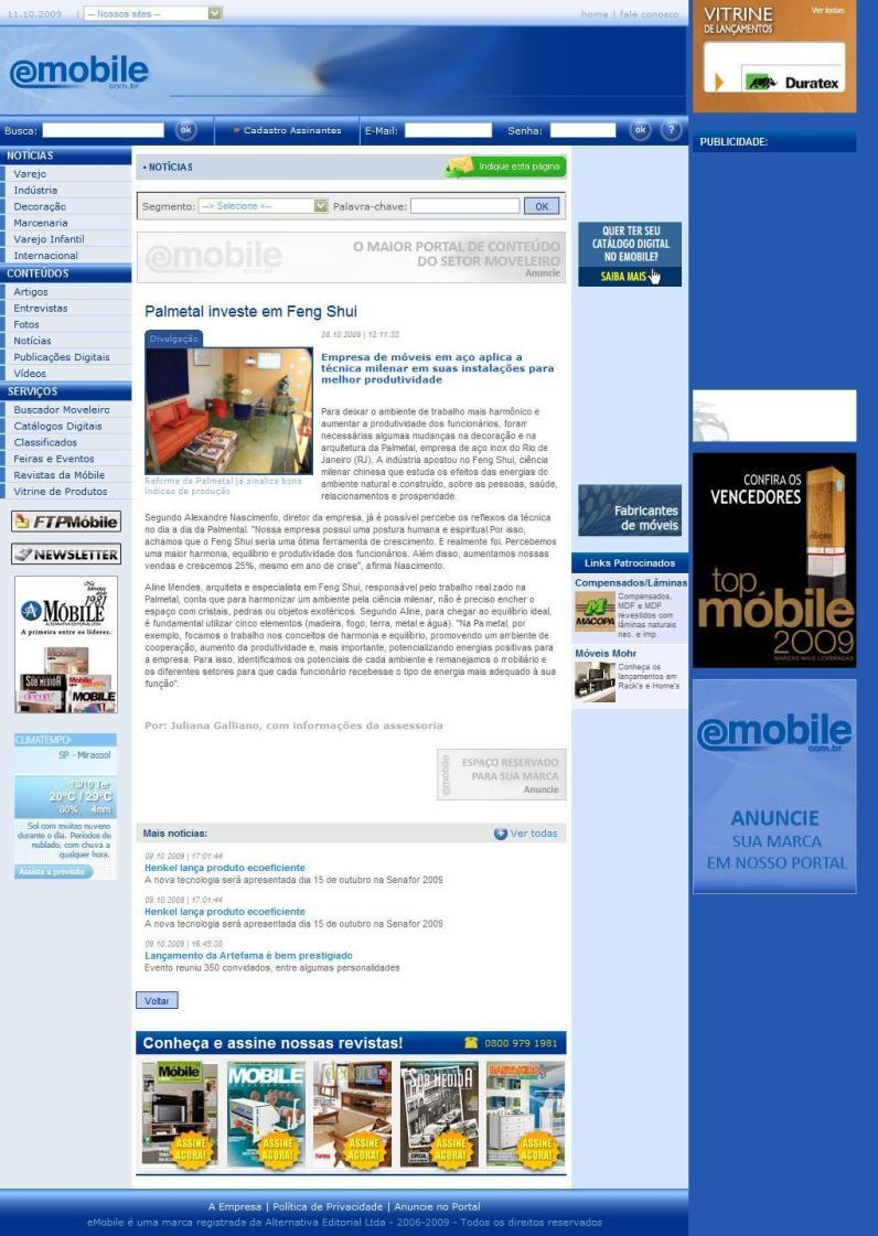 eMobile - Outubro 2009