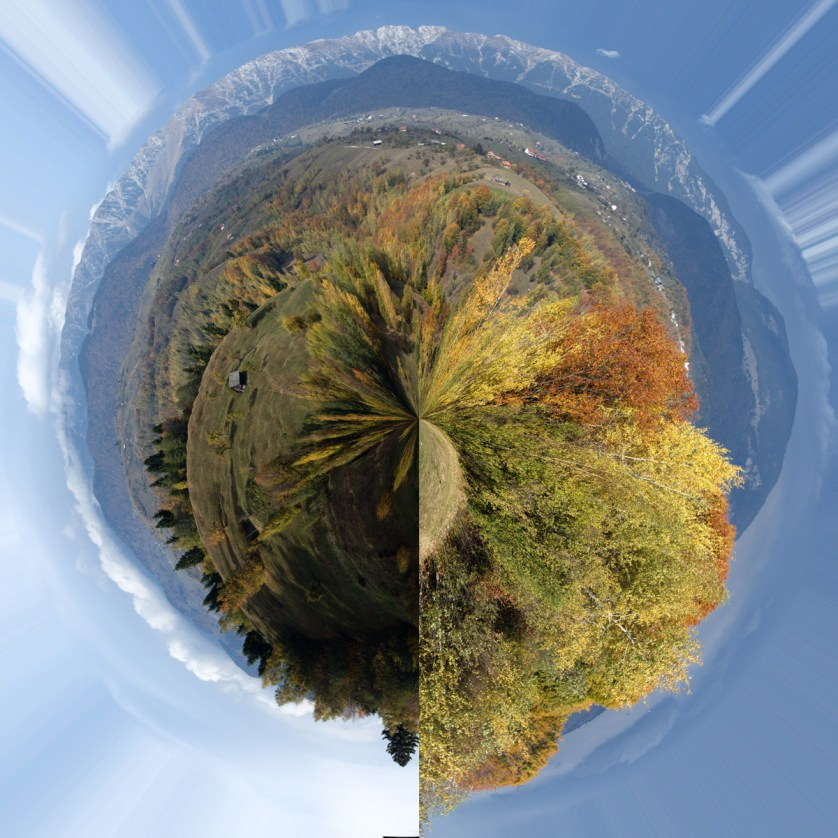 Little Planet gone wrong