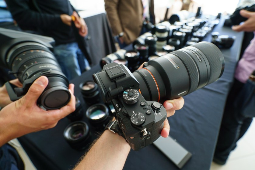 Hands On Sony A7R II