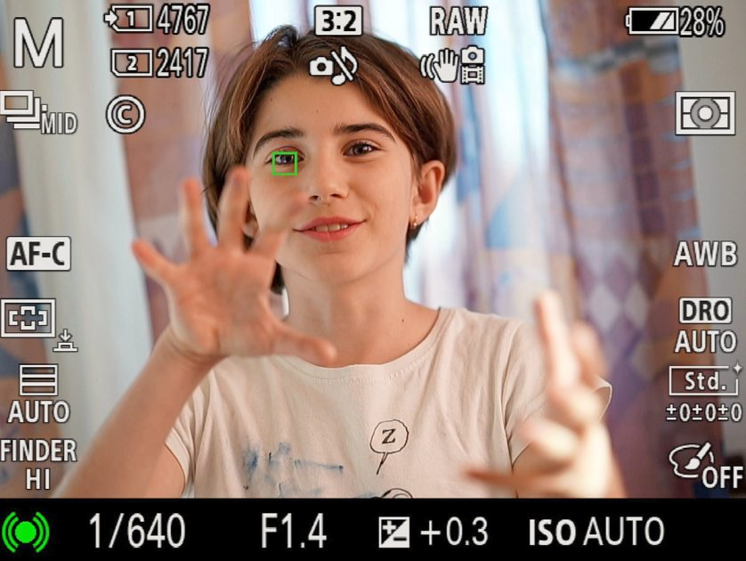 Sony A9 Firmware 5.0 crazy EYE-AF and subject tracking f 1.4