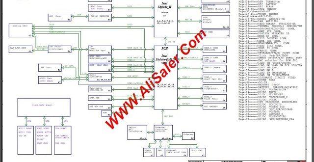 Lenovo Thinkpad T460P LCFC NM-A611 schematic