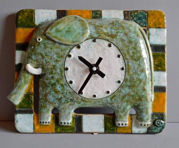 clocks - elephant-clock