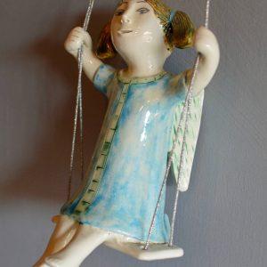 figurative-ceramics - swinging-angel-2