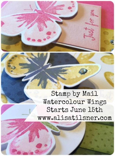 Stamp by Mail Watercolour Wings