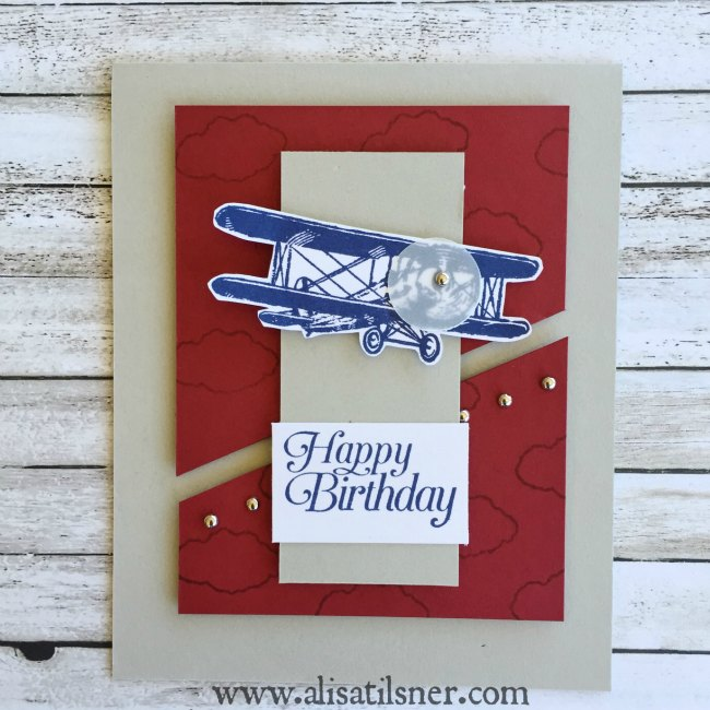 Stampin Up Sky is the Limit 2