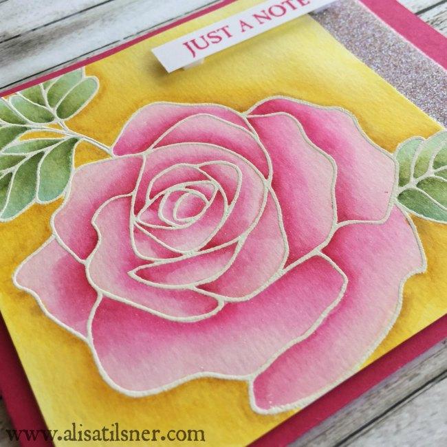 Stampin' Up! Rose Wonder