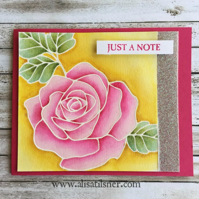 Stampin' Up! Rose Wonder
