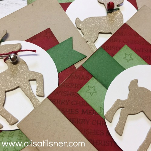 Santa's Sleigh Stamp a Stack by Mail