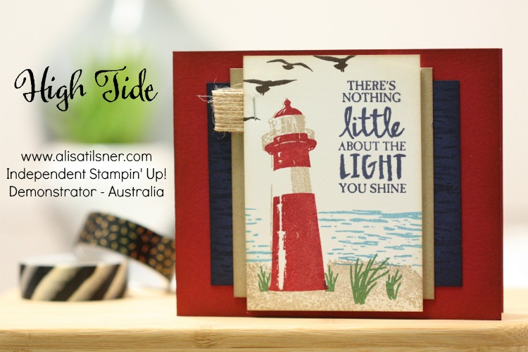 High Tide by Stampin' Up!