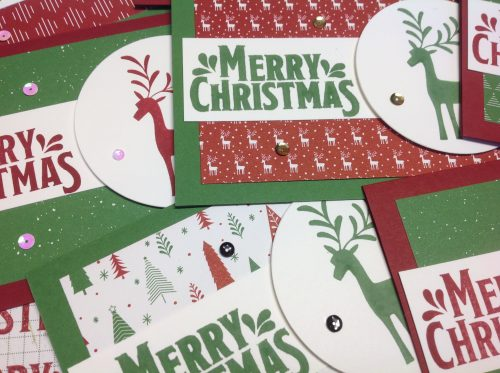 Merry Mistletoe Stamp a Stack