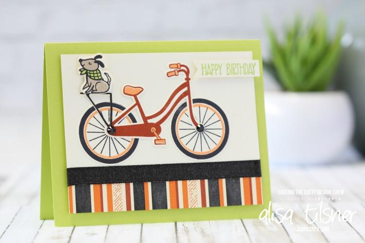 Stampin' Up! Bike Ride