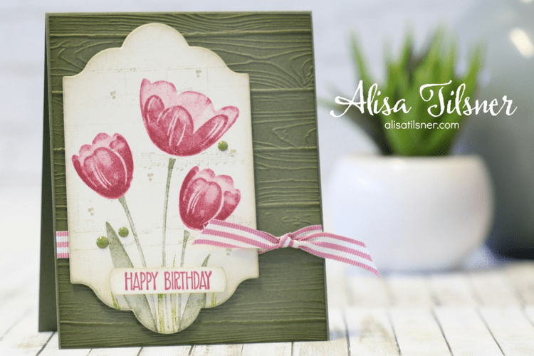 Stampin' Up! Tranquil Tulips