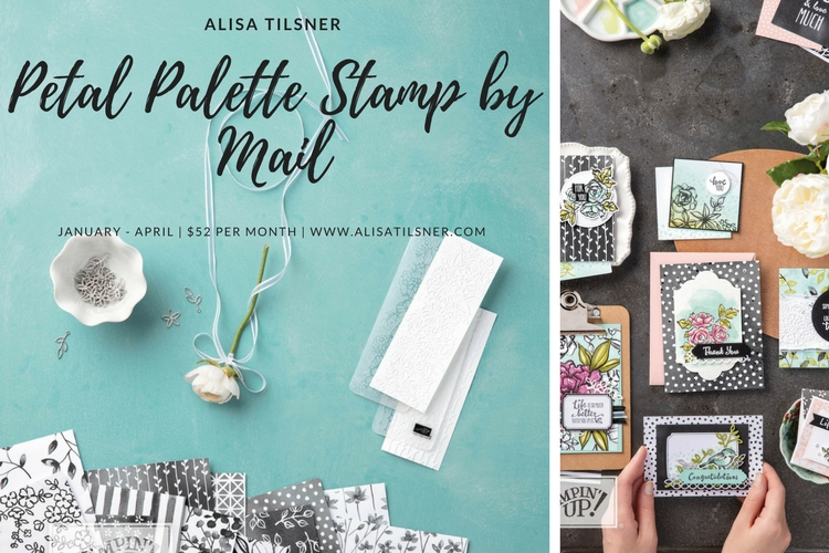 Petal Palette Stamp by Mail
