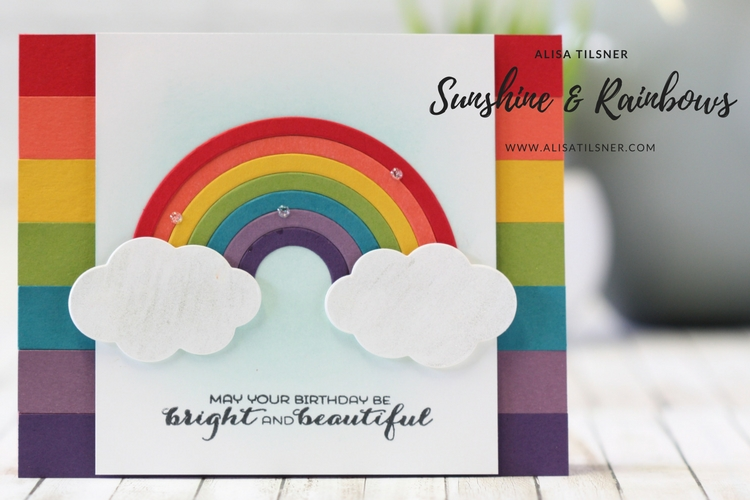 Stampin' Up! Sunshine & Rainbows