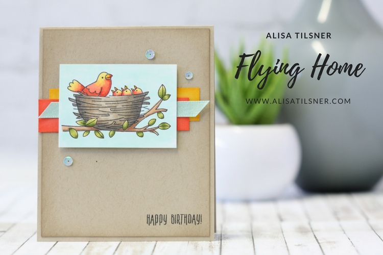 Stampin' Up! Flying Home