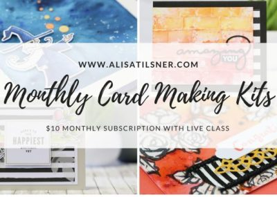 Monthly Card Making Kits