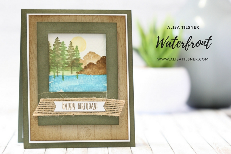 Waterfront Stamp Set