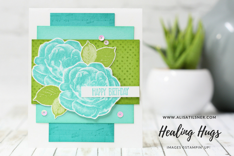 Stampin Up Healing Hugs