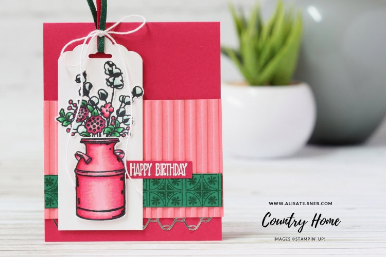 Stampin' Up! Country Home