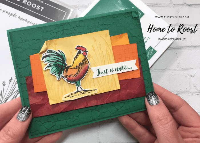 Stampin' Up! Home to Roost