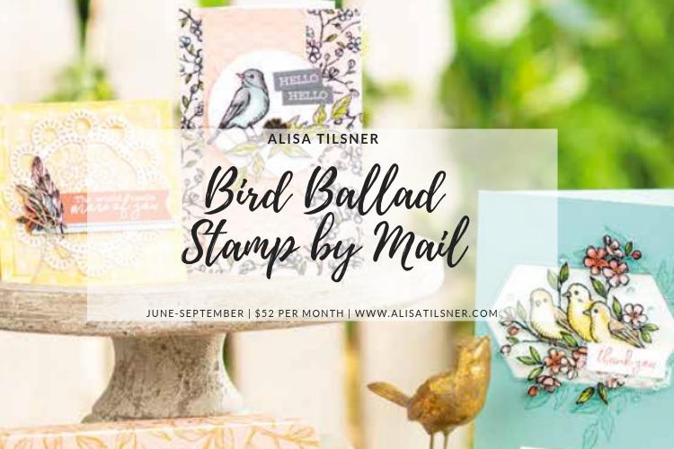 Bird Ballard Stamp by Mail