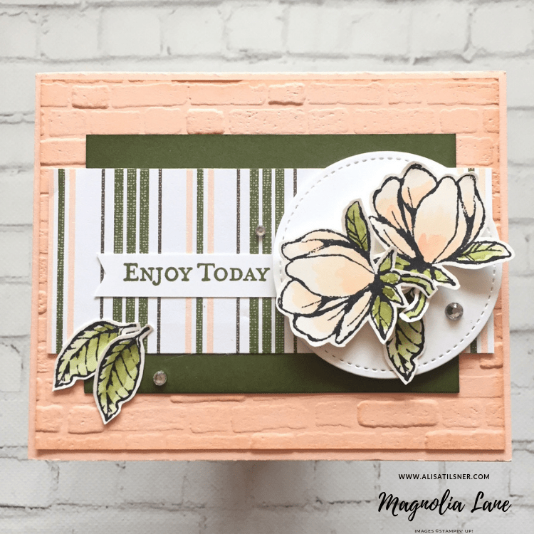 Stampin' Up! Good Morning Magnolia