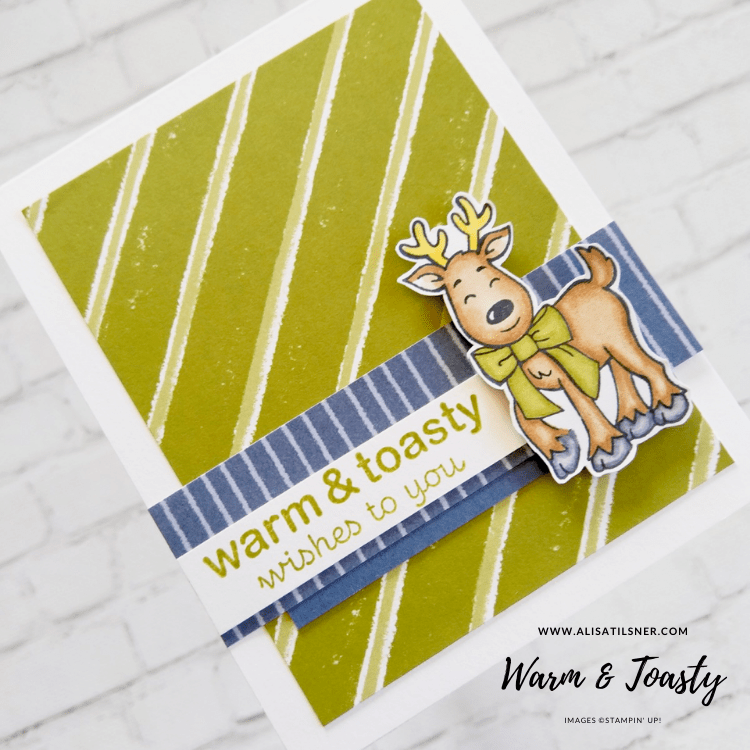 Warm & Toasty Wishes to You!  Cute stamp set from Stampin Up