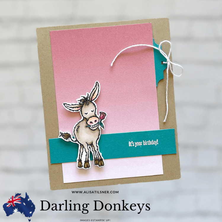 Stampin' Up Darling Donkeys