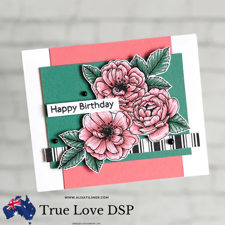 Stampin' Up! True Love DSP