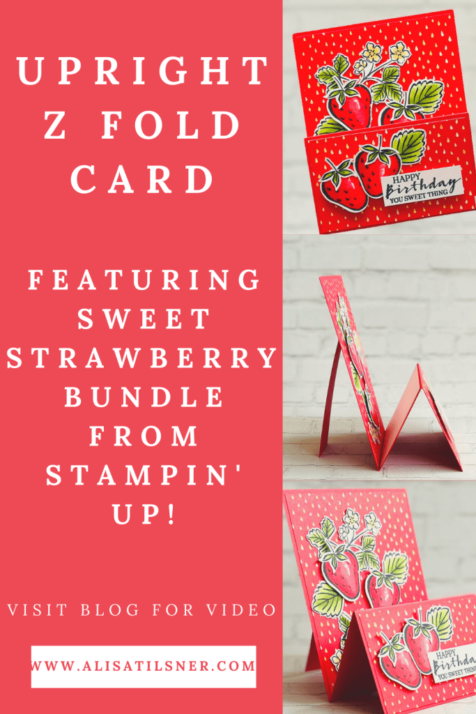 Upright Z Fold Card