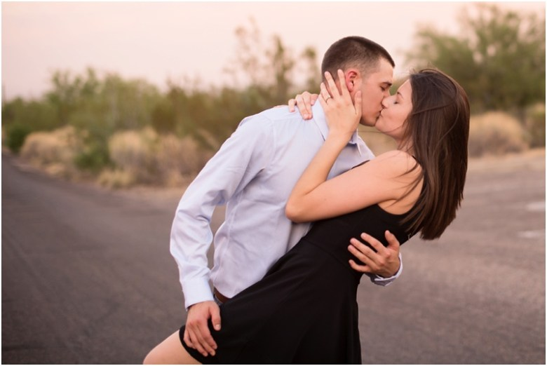 Shelby and Dominic Arizona Engagement Session