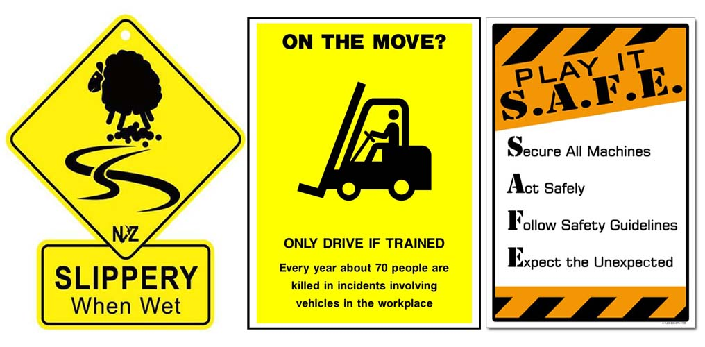 Safety Posters Alison Syntego