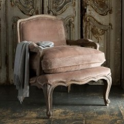 French Velvet Chair Little Girl Chairs Furniture Alison At Home Rochelle Armchair Mink