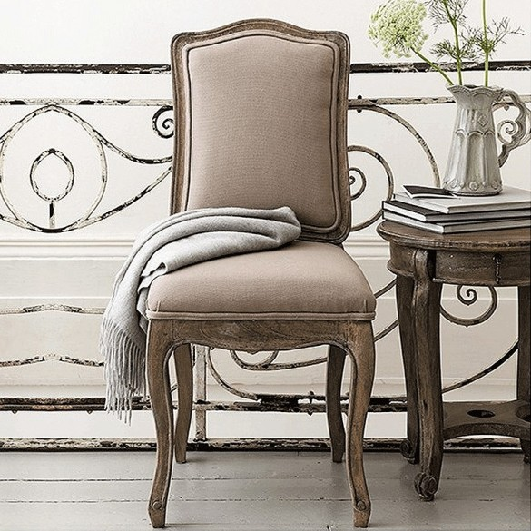 at home chairs basket weave dining pair of avignon french putty alison