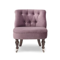 Chloe Occasional Chair - Grape - Alison at Home