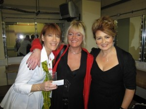 Kiki Dee and Alison Burns