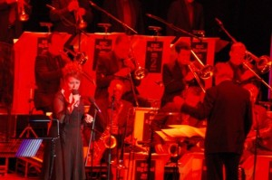 Alison Burns with BBC Big Band