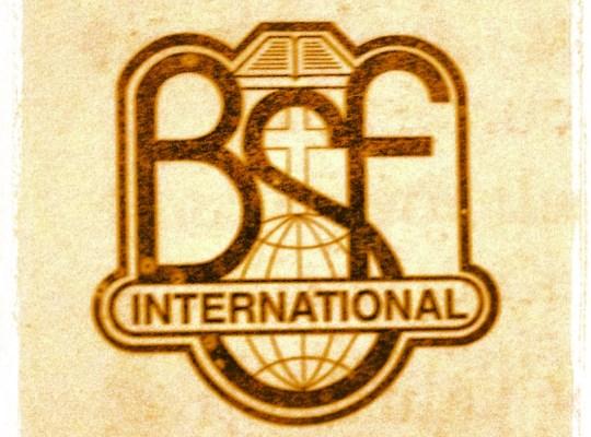 BSF, Bible Study Fellowship, BSF rules