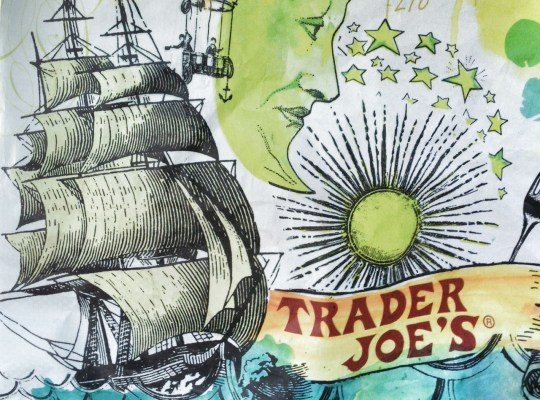 trader joes shopping bag, trader joe's camping menu