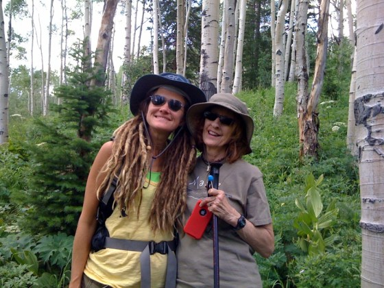 """dreadlocks and aspen trees"" ""hiking"" ""mother daughter"""